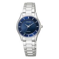 シンプルですっきりとしたデザインで、オンでもオフでも気軽に使える女性用腕時計 シチズンコレクション ...