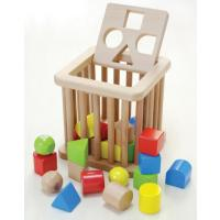 積木 ブロック 人気の知育玩具 1歳 誕生日プレゼント 出産祝い   肌触りがよく丈夫なつくりの木の...