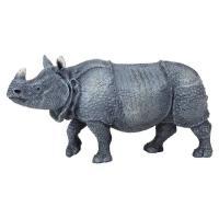 PAPO 動物フィギュア WILD インドサイ 50147