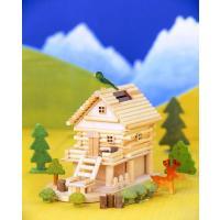 木工工作キット 小学生 夏休み 趣味学校工作  商品名  :山里ものがたり A83 メルヘンログ ロ...