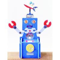 木工工作キット 小学生 夏休み 趣味学校工作 商品名  :ロボット貯金箱工作キット A61 対象学年...