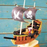 木工工作キット 小学生 夏休み 趣味学校工作  商品名  :海洋ものがたり 船工作キット CC20 ...