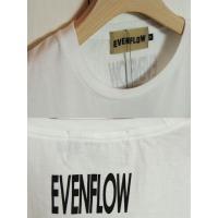 CAロゴTシャツ CA LOGO TEE(ホワイト) イーブンフロウ EVEN FLOW カルバンクライン パロディー