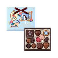 薔薇の形やイラストラベルをあしらったチョコレートが、優しい感謝の気持ちを伝えるギフトです。 可愛いピ...