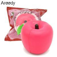 可愛さ満点!リアルなアップルのスクイーズが新登場♪ お馴染みのフルーツりんごが、みんな大好きスクイー...