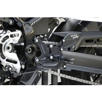 OVER RACING オーヴァーレーシング BACK-STEP バックステップ 4ポジション ブラック Z900RS