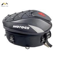 シートバッグ リアバッグ ツーリングバッグ  ヘルメットバッグ 拡張機能あり 撥水 防水 耐久性 固定ベルト付き ツーリング バイク用 送料無料 200021