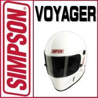 【USA SIMPSON四輪用ヘルメット VOYAGER(ボイジャー)】 <製品サイズ>...