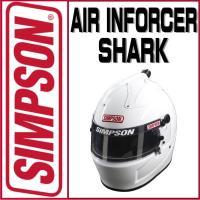 【USA SIMPSON四輪用ヘルメット AIR INFORCER SHARK(エアインフォーサー ...