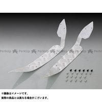 キタコ PCX125 PCX150 ステップボード(シルバーアルマイト)   KITACO