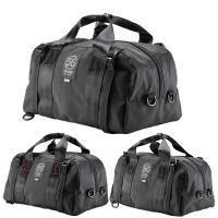 新しい発想のライディング・ボストンバッグです。通常はヘルメットバッグとしても使用できる容量と形状を持...