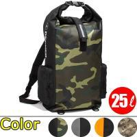 デグナー(DEGNER)の防水バッグ。 普段はバックパック、背負わない時はストラップを収納して手持ち...