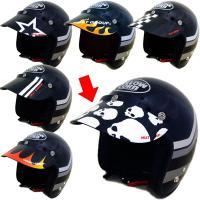 世界初のデザインバイザー シンプルなJETにJUST!  1.ハイクオリティー ヘルメットと同じ製造...