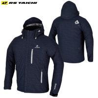 防滴素材を使用したマウンテンパーカスタイルのジャケットで、軽くゆったりとした着心地により、ライディン...