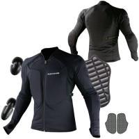 お手持ちのジャケットの下にこれを着ればもうライディングジャケットは必要ない?  伸縮性と吸汗性に優れ...