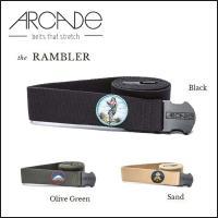 【正規代理店商品】 ■ARCADE (アーケード)  The Rambler ベルト  【STREN...
