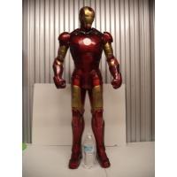 アイアンマン(Iron Man)のフィギュアです。  アイアンマンは、マーベル・コミックが刊行してい...