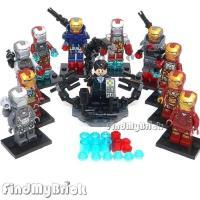 アイアンマン(Iron Man)のレゴブロック・LEGOです。  アイアンマンは、マーベル・コミック...