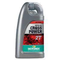 MOTOREX 2サイクルオイル CROSS POWER 2T 100%化学合成油でスロットルの開閉...