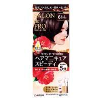 「サロンドプロ ヘアマニキュア・スピーディ (白髪用) 6 ダークブラウン」は、髪にやさしい使い心地...
