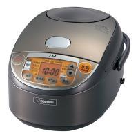 強火で炊き続け、うまみ引き出す「豪熱沸とうIH」。釜全体に熱が伝わる「黒まる厚釜」のIH炊飯器。