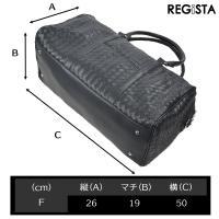 ボストンバッグ イントレチャート 旅行 1泊 2泊 バッグ 鞄 カバン メンズ(ブラック黒) 505