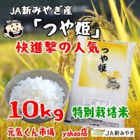 新米 令和2年産 通販 つや姫 宮城県産 10Kg 特別栽培米(減農薬・減化学肥料) 特A地区 つやひめ 一等米 送料無料(一部地域を除く)|ms-genki