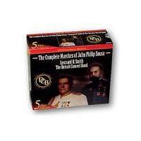 取寄   The Complete Marches of John Philip Sousa (5 CD Set)   Detroit Concert Band  (5枚組)  ( 吹奏楽   CD ) msjp