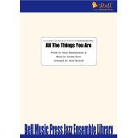 試聴可 | All The Things You Are | Jerome Kern / arr.  Alan Baylock  ( ビッグバンド | 楽譜 )|msjp