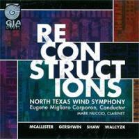 リコンストラクションズ | ノース・テキサス・ウインド・シンフォニー  ( 吹奏楽 | CD )|msjp
