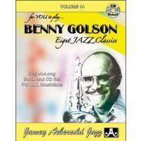 ジェイミー・プレイアロング Vol. 14:ベニー・ゴルソン (2枚組) ( | マイナスワン)|msjp