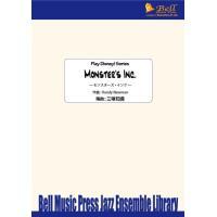 試聴可 | モンスターズ・インク | Randy Newman / arr.  三塚知貴  ( ビッグバンド | 楽譜 )|msjp