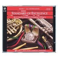 取寄   Standard of Excellence Book 1 Accompaniment CD set (2CDs)   Bruce Pearson (吹奏楽   メソッド・教則本) msjp