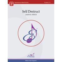 取寄   Self Destruct   ジェイソン・K・ニッチュ  ( 吹奏楽   楽譜 ) msjp