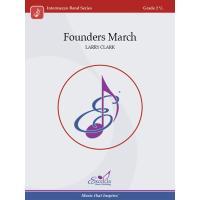 取寄 | Founders March | ラリー・クラーク  ( 吹奏楽 | 楽譜 )|msjp