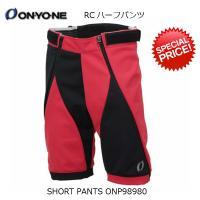 ショートパンツ ONYONE SHORT PANTS  ONP98980 056009 RED×BL...