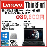 Lenovo ThinkPad X230 core i5 3320M 8G SSD250GB win...