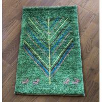 ギャッベ  ギャベ フロアーカーペット アクセントラグ  イラン産 天然草木花染手織りカーペット