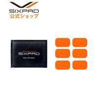 SIXPAD Abs Fit(腹筋専用)の高電導ジェルシート(6枚入り)×1箱です。 ※SIXPAD...