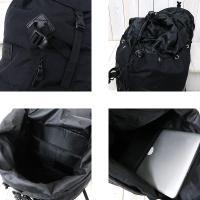 """【ポイント10倍】hobo (ホーボー)『CELSPUN Nylon Backpack 38L """"SHERPA""""』(Black)"""
