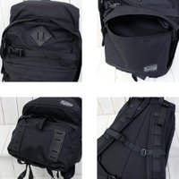 "【ポイント10倍】hobo (ホーボー)『CELSPUN Nylon ""SIRDAR"" 31L Backpack by ARAITENT』(Black)"