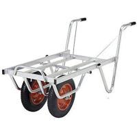 ALINCO コンテナカー SKP02W  ■メーカー:アルインコ  錆に強いアルミ合金製  タイヤ...