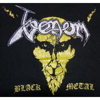 ヴェノム VENOM TシャツBlack Metal 正規品 ロックTシャツ バンドTシャツ