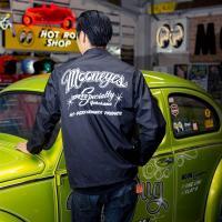 MOON Speed Specialty ウインドブレーカー 黒 ムーンアイズ コーチジャケット