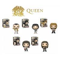 クイーン フィギュア QUEEN Pop! Rocks Freddie Mercury , Brian May , John Deacon , Roger Taylor FUNKO TOY
