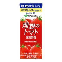 """■厳選された完熟トマトを使用し、理想の""""おいしさ""""と""""栄養""""を追求したトマト100%飲料です(砂糖・..."""