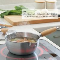 aikata(アイカタ) 両口ステンレス雪平鍋 18cm 燕三条製 PD3001|muranokajiya|03