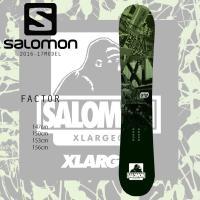 【SALOMON】 サロモン スノーボード 25周年を迎えるX-LARGEとのコラボグラフィックモデ...