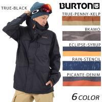 【BURTON】バートンのメンズスノーボードジャケット。 軽量保温素材であるTHERMOLITEイン...
