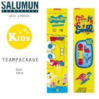 【SALOMON】 サロモン キッズスノーボード キッズ専用のボードとバインディングがセットとなった...